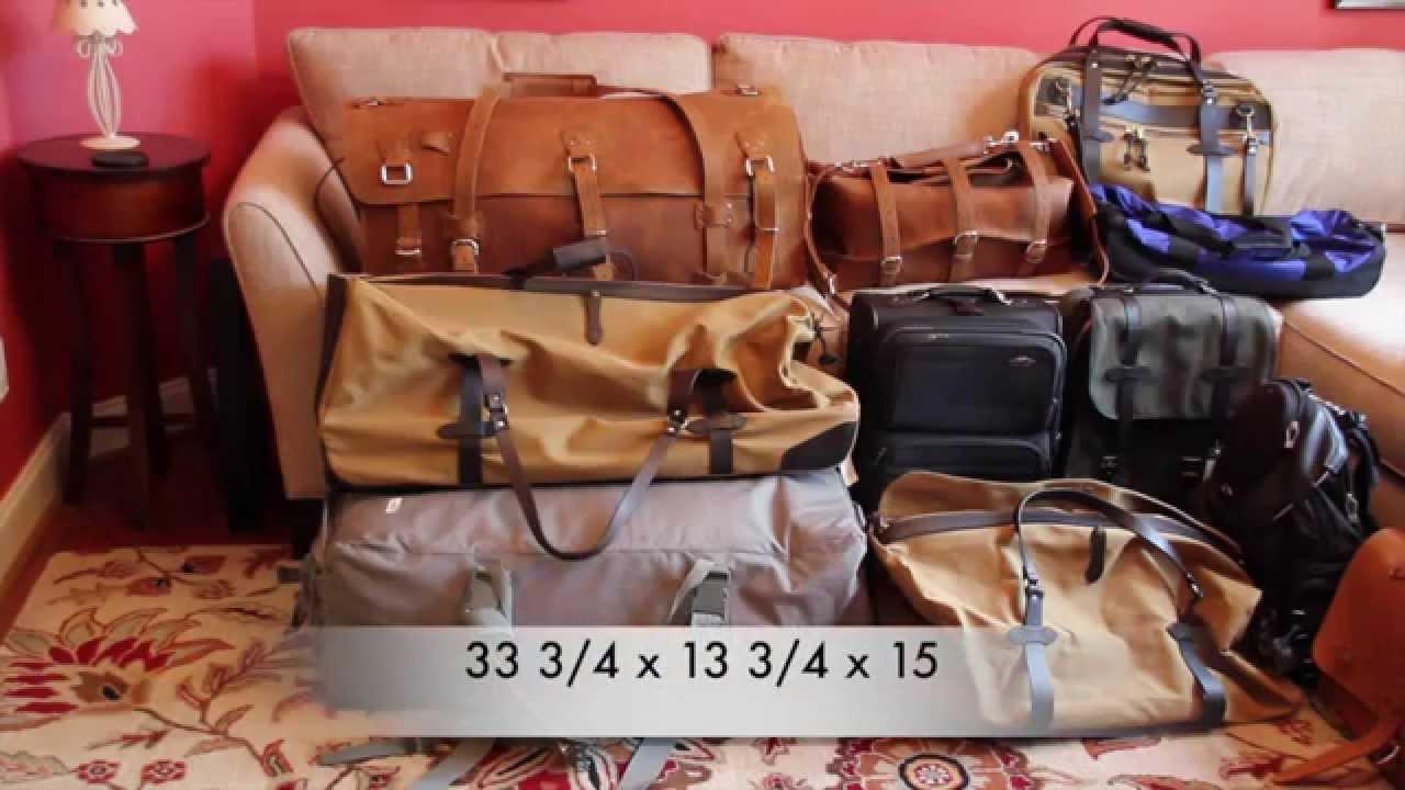Filson XL Wheeled Duffle, Saddleback Leather Beast, Bugout ... Saddleback Leather