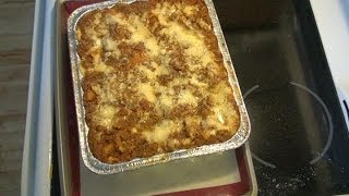 Meat Lasagna (Groundbeef)