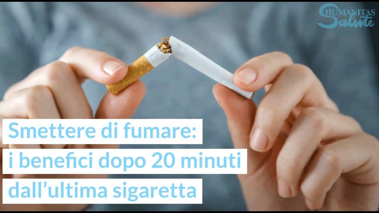 Smettere di fumare benefici muscolari