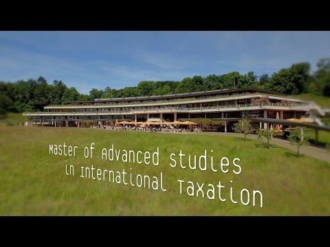 Master of Advanced Studies in International Taxation – UNIL