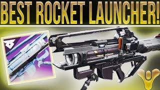 Destiny 2. INSANE ROCKET LAUNCHER! Braytech Osprey Nightfall Strike Reward Review! (Strange Terrain)