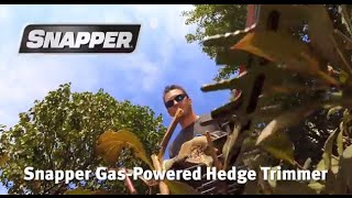 Snapper Gas Powered Hedge Trimmer