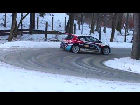 Hubert Ptaszek Peugeot Sport Slovakia Test Before Monte Carlo 2016