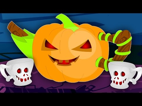 I'm A Little Teapot    Scary Nursery Rhymes   Kids Songs   Childrens Rhymes
