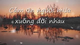 Cám Ơn Người Yêu Dấu - Nguyễn An Bình