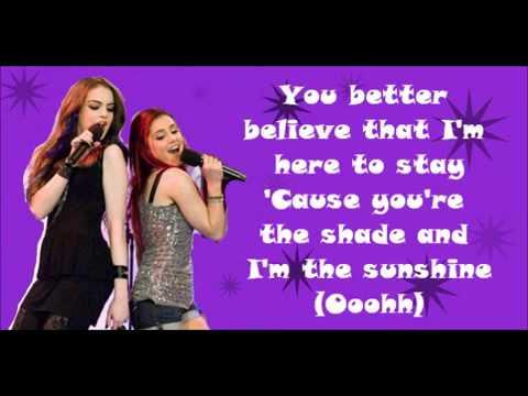 Give it Up Lyrics  Elizabeth Gillies   Ariana Grande Victorious FULL HD