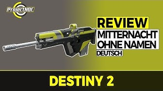 Destiny 2 - Mitternacht Ohne Namen Komplett-Review (Deutsch/German)