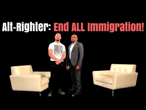 Alt-Right Activist: White Genocide Is REAL; End ALL Immigration & Stop Refugees Now! (Trailer)
