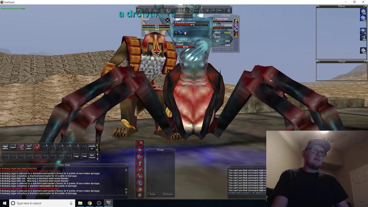 Everquest - Dreadlands Solo - Enchanter Charm - Coirnav Server