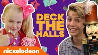 'Deck the Halls' Music Video🎄 Ft. Jace Norman, JoJo Siwa & More! | #MusicMonday