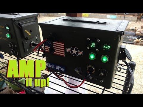 new-12v-amp/voltmeter-on-backyard-micro-solar-generator-system