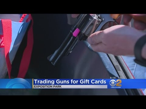 LAPD Collects Hundreds Of Weapons, Ammo And Something No One Expected In Gun  Buyback Program