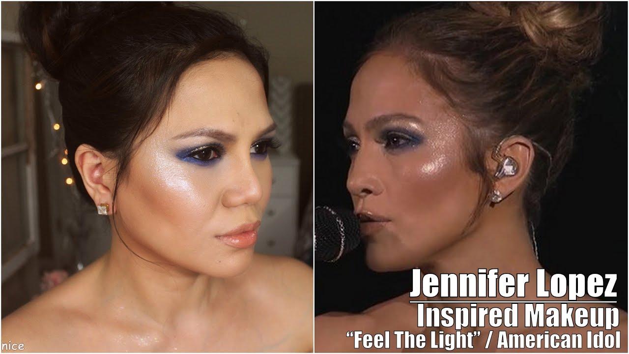 jennifer lopez inspired makeup feel the light on american idol youtube. Black Bedroom Furniture Sets. Home Design Ideas