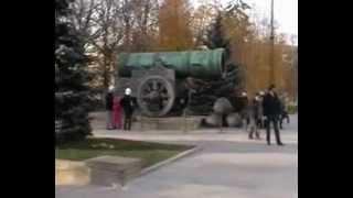 беглый обзор Кремля (стены, соборы, башни) осенью