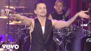 Depeche Mode - Enjoy The Silence (Live on Letterman) thumbnail