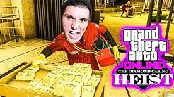 Vier YOUTUBER klauen das GELD aus dem CASINO TRESOR! | GTA 5 Online Casino Heists
