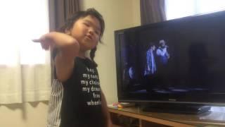 蕾〜クリスハート、村上佳佑〜     歌大好き4歳児