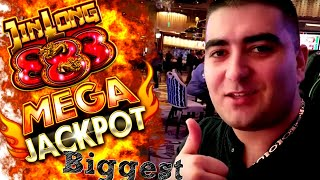 88X Multiplier  ★MEGA HANDPAY JACKPOT ★ on Jin Long 888 Slot Machine | Massive Live Handpay Jackpot