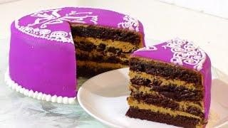 Самый вкусный ШОКОЛАДНЫЙ ТОРТ. The most delicious chocolate cake.