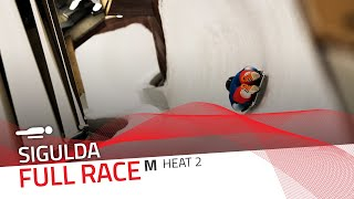 Sigulda | BMW IBSF World Cup 2020/2021 - Men's Skeleton Heat 2 | IBSF Official