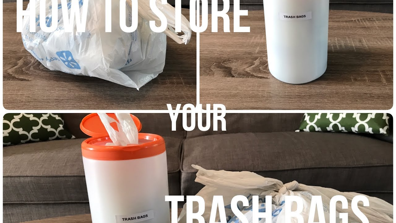 Trash Bag Storage & Trash Bag Storage - YouTube