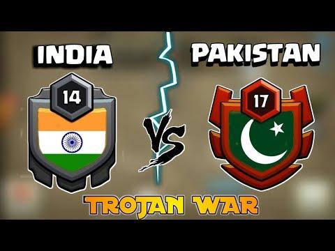 LIVE!!🔥 INDIA VS PAKISTAN! 🔥 TROJAN WAR | AMAZING 60 ATTACKS 🔥