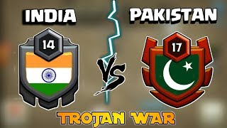 🤔🔥 INDIA VS PAKISTAN! 🔥 TROJAN WAR | AMAZING 60 ATTACKS 🔥