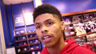 "SHAKUR STEVENSON ""DEVIN HANEY USED TO BE MY LIL BRO, I DONT ROCK WITH HIM"" BEEF!"