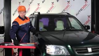 HONDA CR-V Ašies montavimas keitimas: instrukcija
