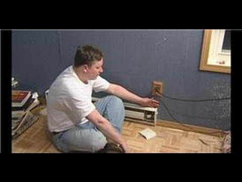 Plumbing & HVAC Maintenance : How to Wire a Baseboard Heater  YouTube