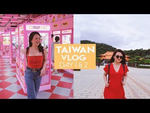 TAIWAN! (DAY 1 & 2) | ASHLEY SANDRINE