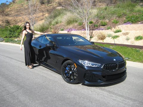"2019 BMW M850i Carbon Black / Exhaust Sound / 20"" Black M Wheels / BMW Review"