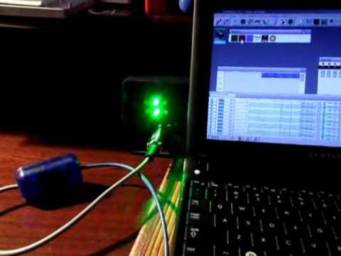 Freestyler & Converter KWMATIK USB DMX512 - YouTube