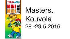 Intoa ja iloa Tykkimäki Mini- ja Miditennis Tour Mastersissa