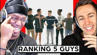Ranking Men By Attractiveness - 5 Guys vs 5 Girls