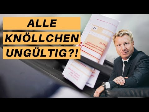 Falschparker-Knöllchen: Sind Millionen Bußgeldbescheide ungültig?
