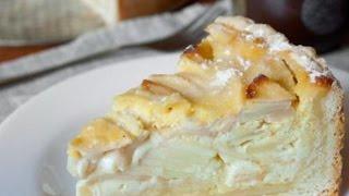 Пирог с яблоками в мультиварке. Простой рецепт