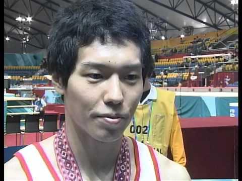 Hisashi Mizutori Interview 2006 Asian Games AA