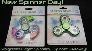 New Spinner Day - Walgreens Spinner and Giveaway
