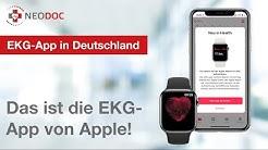 EKG-App von Apple - jetzt auch in Deutschland! Herzrhythmus überwacht und Vorhofflimmern erkannt