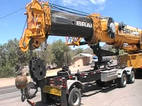 Walk-Around Of A Grove GMK 5275 Crane With A 3-Axle Boom Dolly