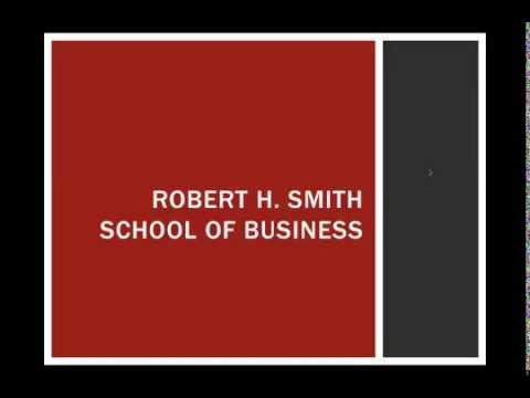 Smith MBA:  Experience Our Community Today! - Webinar