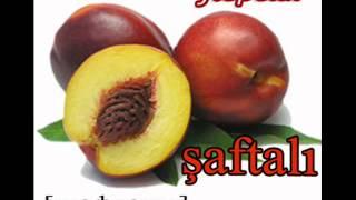 Азербайджанский язык, фрукты овощи -  tərəvəzlər - www.az-love.com