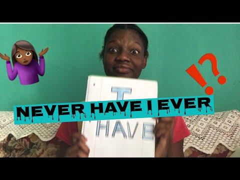NEVER HAVE I EVER | Imani's Corner