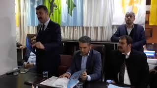 Başkan Altan, MHP İlçe Teşkilatı ile Bir Araya Geldi