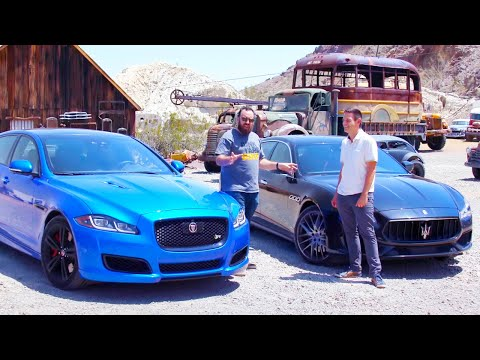 Head 2 Head FULL EPISODE | Jaguar XJR575 vs Maserati Quattroporte GTS—Episode 107