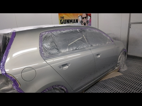 TSI Volkswagen Golf: Spray Painting