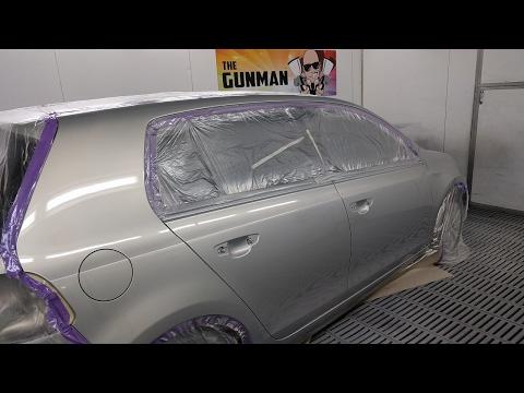 TSI Volkswagen Golf: Spray Painting