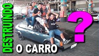 DESTRUINDO O CARRO! Não, Pera.. EU JA FIZ ISSO ! ! ! ! = Canal D2M