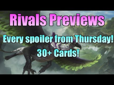 Rivals of Ixalan Previews- ALL 30+ Thursday Spoilers! (MTG)